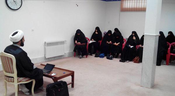 دومین جلسه دوره چهارم آموزش تخصصی مبلّغ حجاب(ویژه خواهران) درشهرک پردیسان قم