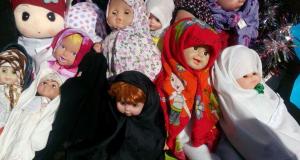 جشنواره حجاب عروسکها مدارس مجری طرح شعبه ساری سال تحصیلی ۹۴