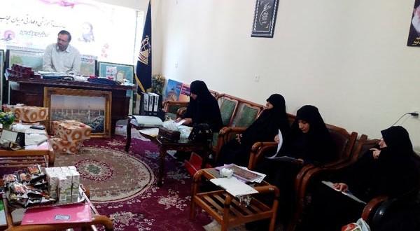 برگزاری آخرین جلسه آموزشی و تقدیر از مربیان حجاب شعبه مشهد