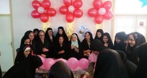 جشن روز دختر با حضور اعضای خوش حجابی و نسیم عفاف شعبه ارومیه