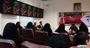 دیدار مربیان جهادی و مسئولین مرکز حجاب ریحانه النبی (س) شعبه ارومیه با امام جمعه این شهر