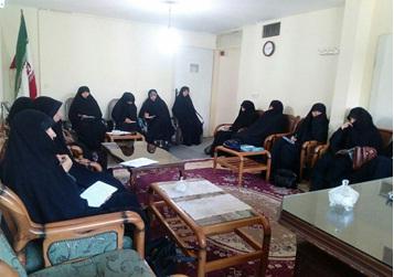 مرحله دوم ارزیابی مربیان جدید مرکز حجاب ریحانه النبی(س) شعبه مشهد