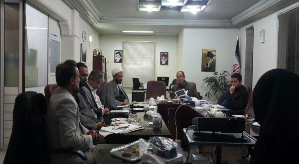 جلسه کمیته مردمی عفاف و حجاب در دفتر مدیرکل امور اجتماعی استانداری خراسان رضوی
