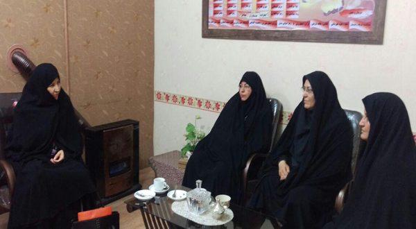 بازدید از مدرسه امام حسین(ع) توسط مسئول واحد خواهران شعبه مشهد
