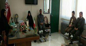 جلسه مرکز حجاب ریحانه النبی(س) شعبه مشهد، با ریاست ناحیه چهار آموزش و پرورش