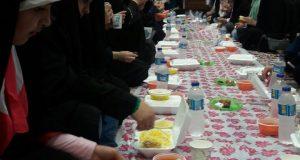 ضیافت افطاری به مناسبت میلاد امام حسن مجتبی در ساری