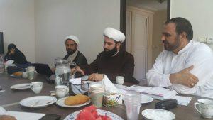 جلسات هم اندیشی مسئولین شعب مرکز حجاب ریحانه النبی(س) در مشهد مقدس