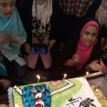 شرکت دختران خوش حجاب ساروی در جشن میلاد حضرت معصومه